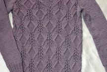Pletené svetry vesty halenky