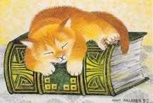 CAT art by Anna Hollerer