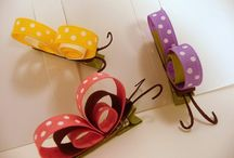Insect hair clips / by Griselda Burruel