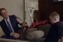 Iron Man Memberikan Lengan Bionic