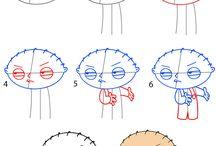 draw cartoons