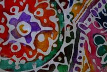 elementary art - batik and cloisonne / by Laine Van
