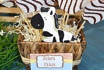 Mom's 50th Birthday Ideas / gathering some ideas. Either zebra or lambs... leaning toward lambs.