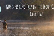For the Guys: Blue Ridge, Georgia / Great things for the guys trip to beautiful Blue Ridge, Georgia!