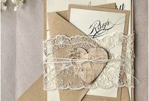 Invitations - lace