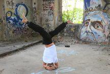 Urban Yoga Leipzig ♥ / allesyoga geht raus. An besondere Orte. In Leipzig und mehr...