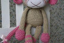 singes crochet