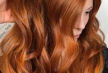 röd hårfärg