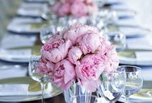 "Wedding Reception Inspiration  / Wedding table designs are all about the details, using great dishes, unique #centerpieces & adding little personal touches. Using hot #colors on your #wedding #reception tables is a great way to get that ""WOW"" factor!"
