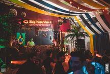 favela / rio, brazil carnival theme decor