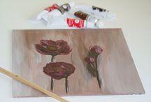 Moja tvorba/My work / painting, acryl, oil, colour