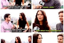 Jennifer Lawrence needs her own board / Everything JLa cause she is just awesome and hilarious / by Kiara Botha