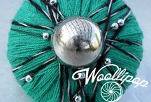 our WOOLLIPOP rings collection / our 100% handmade wool rings!