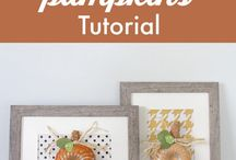 Fall / Autumn crafts decoration and DIY