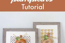 Fall / Autumn crafts decoration and DIY