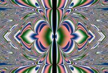 Fractal Sterling -background / free art