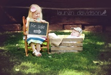 Baby brother and sister picture ideas  / by Brittney Carr