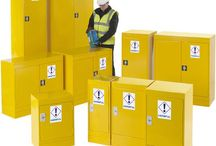 Hazardous Storage / A selection of products for storing hazardous substances