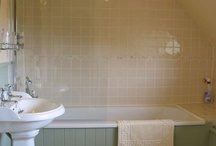 Farmhouse bathroom / We are renovating a farm house at the moment - these are some nice bits of inspo!