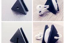 opbevaring af høretelfoner