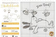 Cross Stitch Charts  Схемы Вышивка крестиком