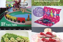 DIY Kid Craft Ideas / Are the kids bored with summer? Check out this DIY Kid Craft Board by White Rabbit for great DIY craft ideas for the kids!