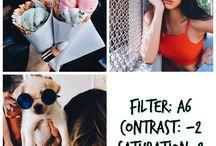 filters/photos