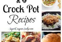 crock pot / by Casie Hicks Bridges