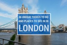 LONDON / Things to do