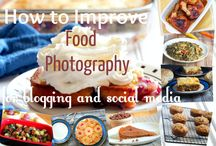 food photography / A collection of ideal food photography set ups.