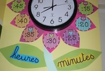 horloge de classe