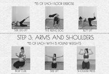 Prenatal workout..