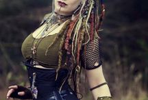Fantasy characters / different fantastic creatures, art, makeup and cosplay, fantasy photos