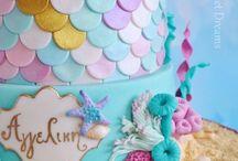 Marmaid cake Olly