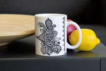 Hand Designed Printed Mugs / All our Mug Designs are exclusive, unique, and beautifully hand designed. There is a secret story behind every art piece on our mug designs. Every sip from these designer mugs will have your beverage tasting like Justice and Freedom of a new era.  You can be assured that these mugs are completely microwavable and dishwasher safe. These sturdy white, glossy ceramic mug are an essential to your cupboard.