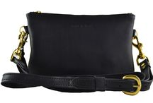 DG Crossbody / DG Crossbody leather bag with removable wrist and crossbody straps. Lined.