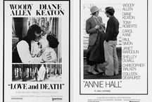 Black and White Movie Posters / Black and white posters are so dramatic and interesting. I look forward to sharing many more and hope you will contribute.