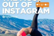 SOCIAL MEDIA TIPS / Tips and advice on social media for yoga teachers and spiritual entrepreneurs, e.g. tips how to set up and use Pinterest, Twitter, Facebook, Instagram and more.
