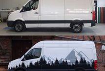Van/Car paintings