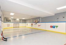Indoor ice rink