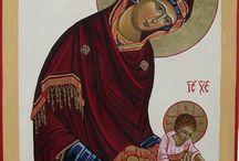 icone religieuse dessin