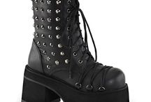 Emo /Gothic Outfits / as gothic/emo clothers/boots/shoes ...