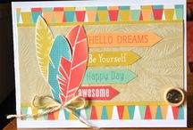 CTMH Free To Be Me Layouts/cards / by Rachel Apling