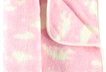 Kocyk niemowlęcy RÓŻOWY W CHMURKI/Baby blanket pink CLOUD / Kocyk niemowlęcy RÓŻOWY W CHMURKI/Baby blanket pink CLOUD