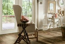 """LAMINATE LOOKS LIKE WOOD / Some laminates look exactly like wood flooring. in fact some are embossed so when you touch them they """"feel"""" like wood! / by C T Carpet One"""