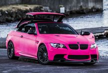 Cars pink