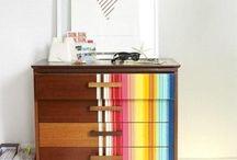 Lounge multi colours / Ideas for colourful lounge