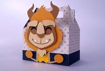 Caixinhas / Aqui você vai encontrar vários tipos e formatos de caixinhas em temas variados para decorar a sua festinha. =)
