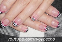 Plaid, Argyle & Checker Nail Art / by Rose Stumbaugh
