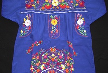 EMBRODERED DRESS FROM PUEBLA CYNTHIA PYNN